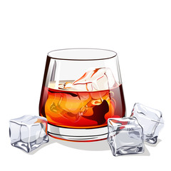 glass of scotch