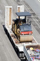 Lavori di rifacimento del manto stradale, asfaltatura strada