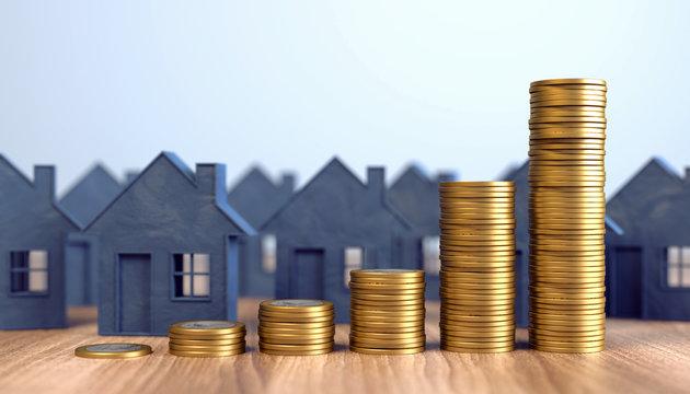 Steigende Mietpreise