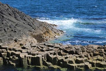 Insel Staffa, Basaltsäulen - Foto 3
