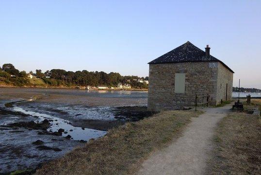 Old watermill in Arradon - Gulf of Morbihan, Brittany, France