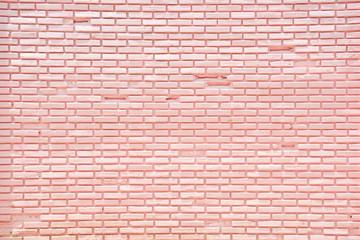 Brick wall pink background