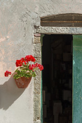 Fototapete - Residential in cinque terre, Italy