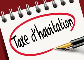 taxe d'habitation - impôt - taxe - présentation - maison - habitation - logement - propriétaire