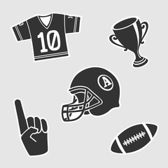 American Football Vector Symbol