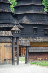 An old wooden building