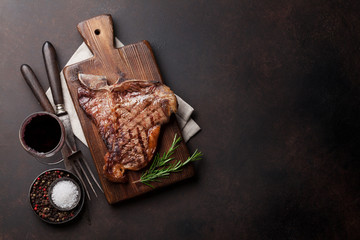 Wall Mural - T-bone steak