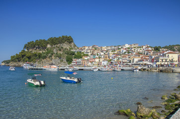 Greece  - Port of Parga - Ionian Sea