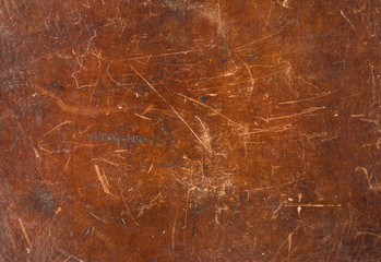 Old brown leather texture closeup, high resolution