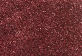 velour or velvet fabric background, texture. Brown color, high resolution