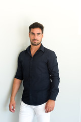 Handsome Latino Man