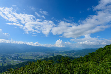 長野 伊那谷の風景