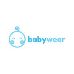 baby wear/cloth logo template
