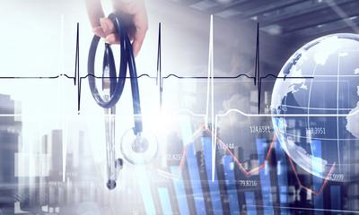 Modern medicine cardiology concept