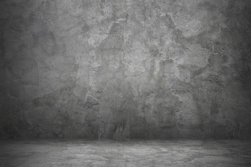 Wall Mural - concrete wall and floor for background and design
