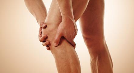 Schmerz im Kniegelenk
