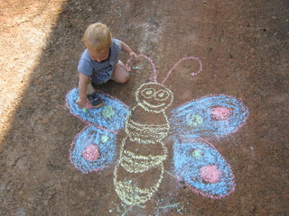 Fun With Sidewalk Chalk