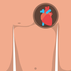 pain in the chest and heart attack symptoms
