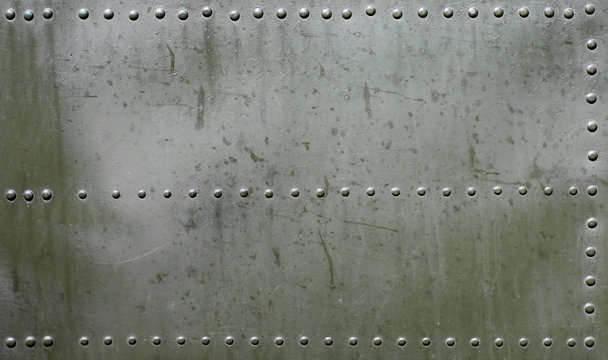 Metal surface of military Armored.