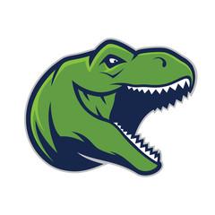 Raptor head mascot 2