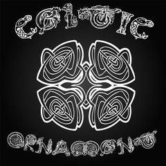Celtic decorative  ornament