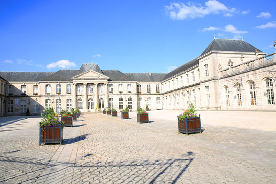 The historic Castle Stanislas in Commercy, Lorraine, Grand Est, France