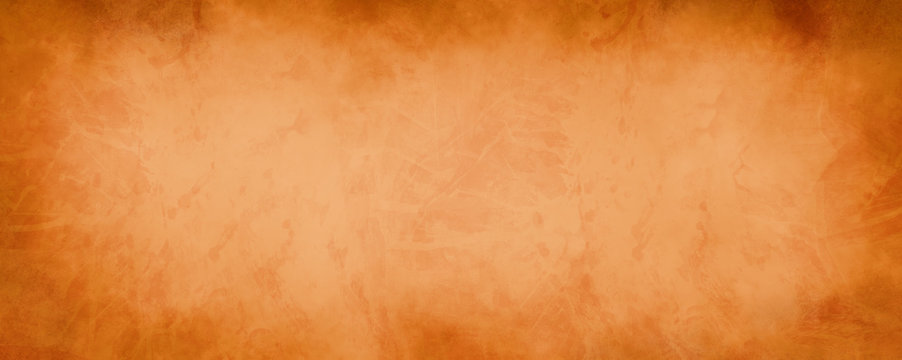 orange background with vintage marbled texture