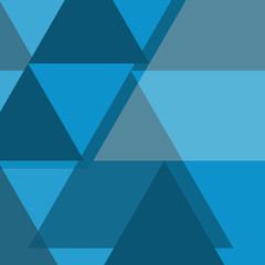 Geometric abstract blue background Template for cover, flyers, banners and posters your design.
