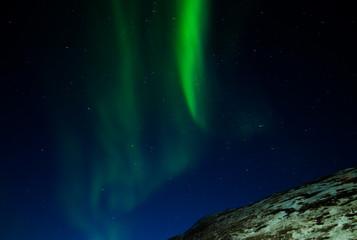 Aurora borealis at Greenland