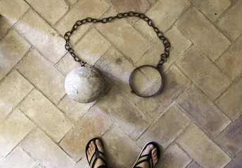 Medieval torture chain