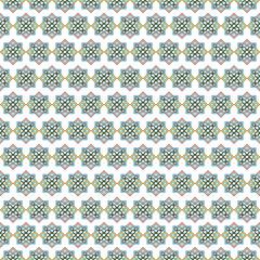 Mosaic tile arabic seamless pattern background