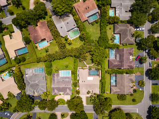 urban aerial photography south florida