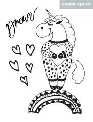 dream bigger unicorn