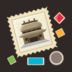 chinese architecture picture to remember of travel