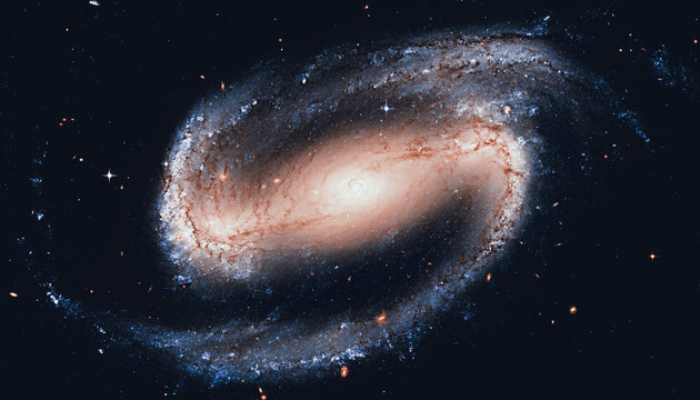 Spiral galaxy in the constellation Eridanus NGC 1300