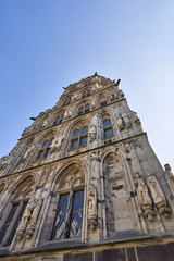 front facade of Historisches Rathaus (historical city hall)