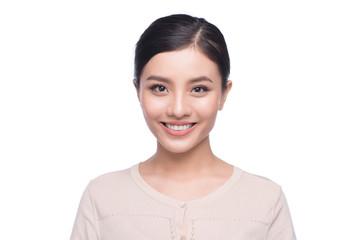 Headshot of cute asian woman professional. Architect businesswoman Wall mural