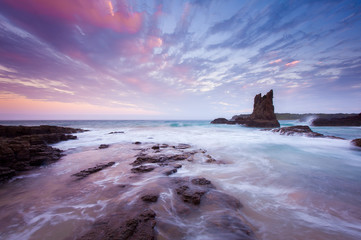 Cathedral Rock Kiama Wall mural