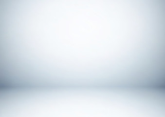 Empty gray studio room, used as background for display your products - Vector