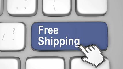 Free shipping key