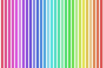Buntes fröhliches Regenbogenmuster mit vielen Farben