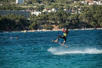 kite surf , brac island, bowl, croatia