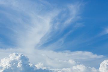 cloud above blue sky
