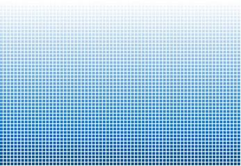 Farbübergang weiß zu blau aus Kästchen