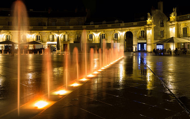 Dijon FR by night