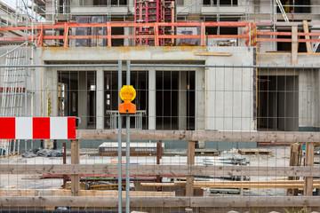 Baustelle Neubau Signal