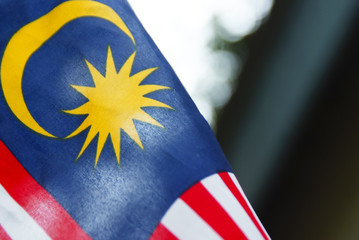 Independence Day concept - Malaysian Flag