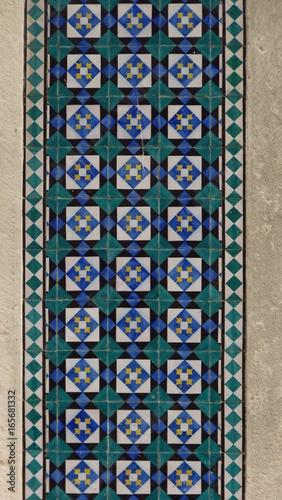 Portugiesische Fliesen Azulejos In Lissabon Portugal Stockfotos Und - Portugiesische fliesen azulejos