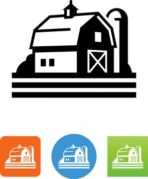 Farm Icon - Illustration