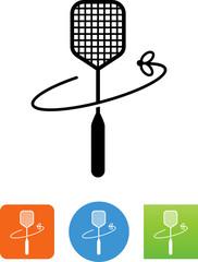 Flyswatter Icon - Illustration